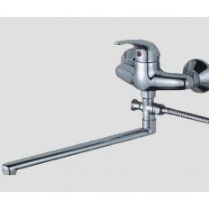 Смеситель для ванны ДЕКОР GY-1007-01  одноручный с L-изливом без аксессуаров