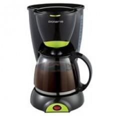 Кофеварка Polaris PCM 1211 Черный/салатовый