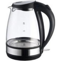 Чайник ENERGY E-254G (2,0 л, диск) стеклянный, черный
