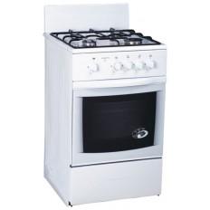 Плита газовая белая Greta мод 1470-00-12