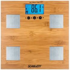 Весы напольные Scarlett SC-2216R бамбук